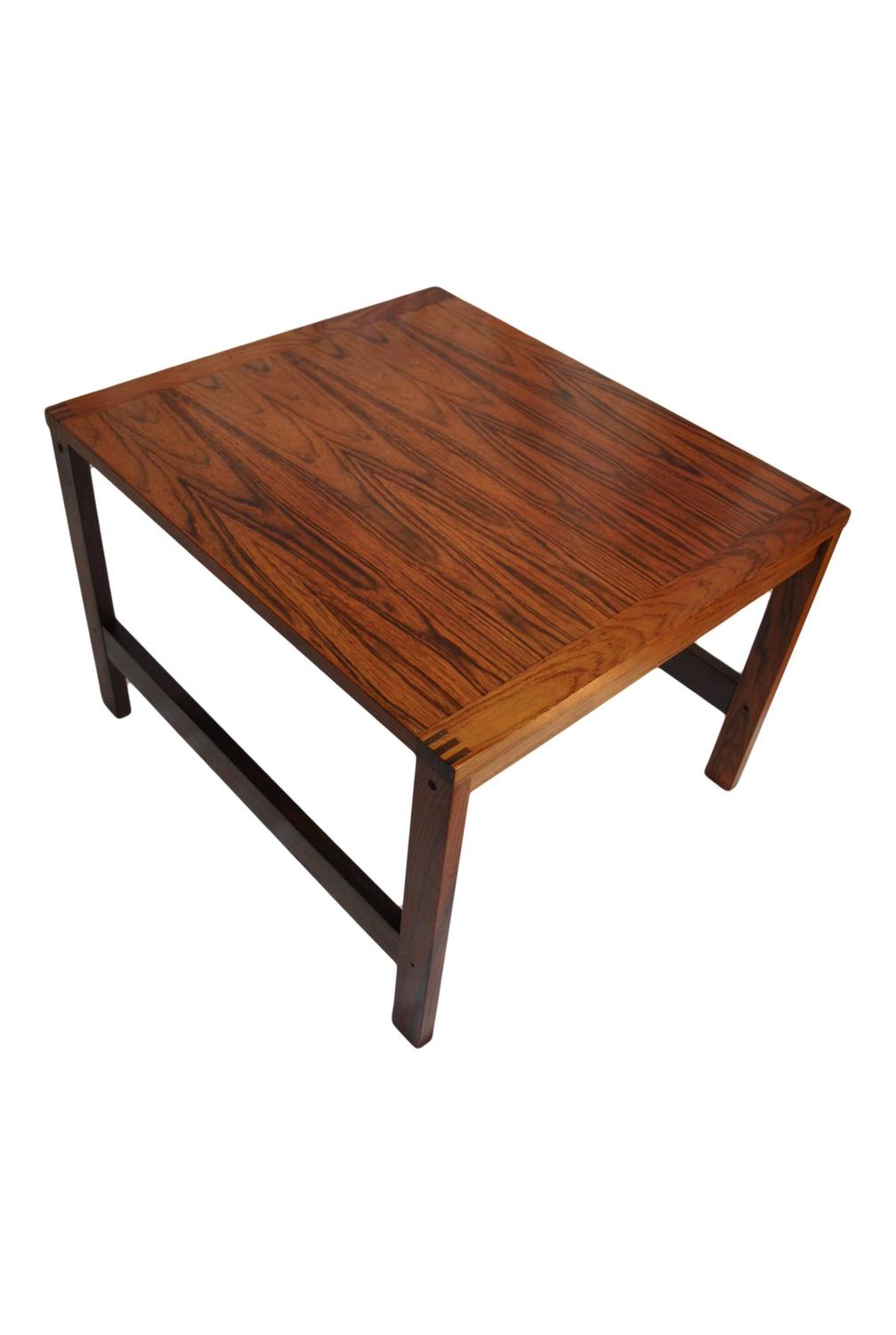 Ole Gjerlov Knudsen Rosewood Coffee Table At 1stdibs