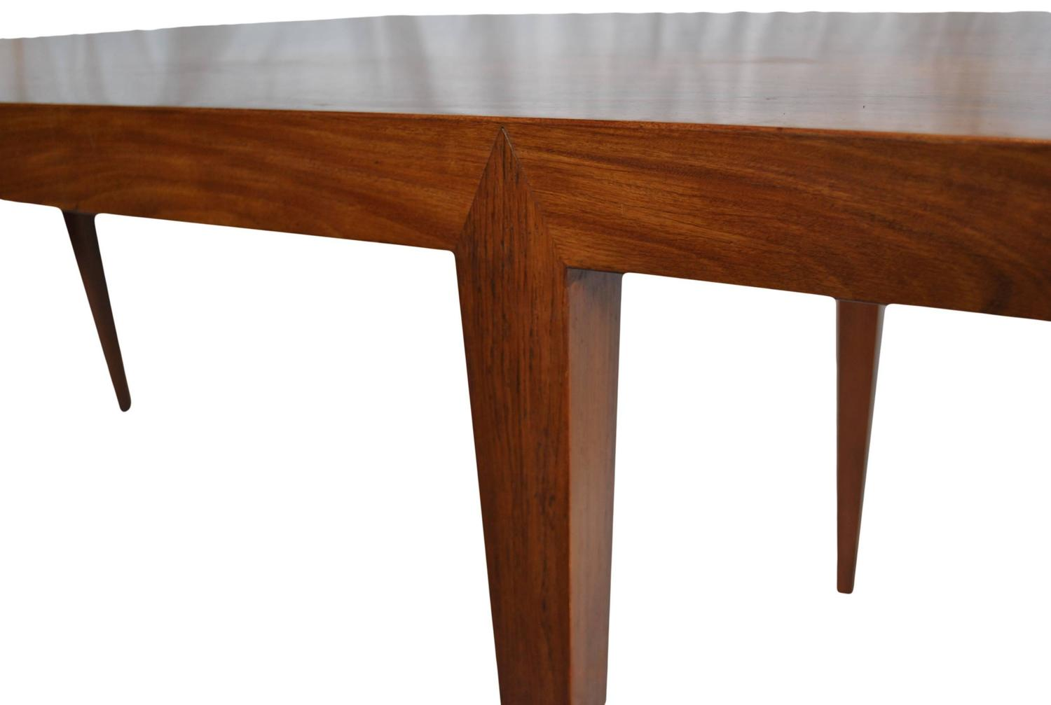Large Severin Hansen Rosewood Coffee Table At 1stdibs