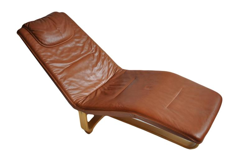 Ingmar relling knut relling chaise longue at 1stdibs for Chaise longue london