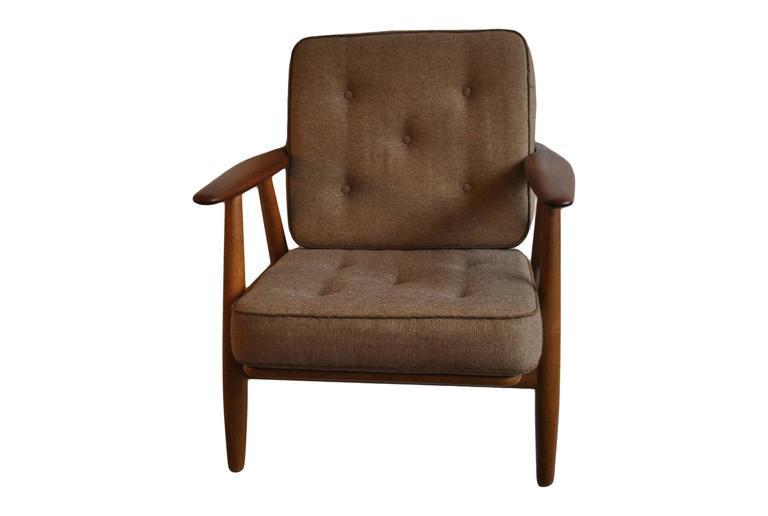Danish Hans J Wegner GE240 Cigar Chair, Original GETAMA Model For Sale