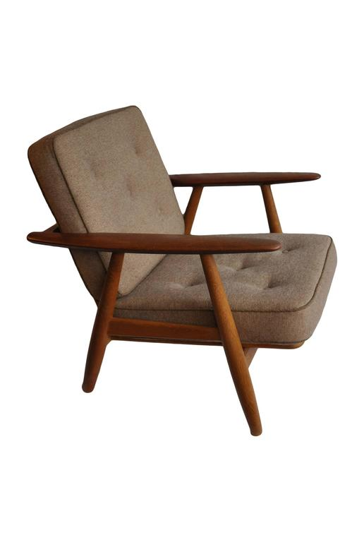 20th Century Hans J Wegner GE240 Cigar Chair, Original GETAMA Model For Sale