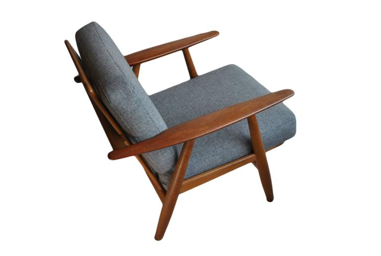 Original Hans J Wegner Ge240 Cigar Chair 2