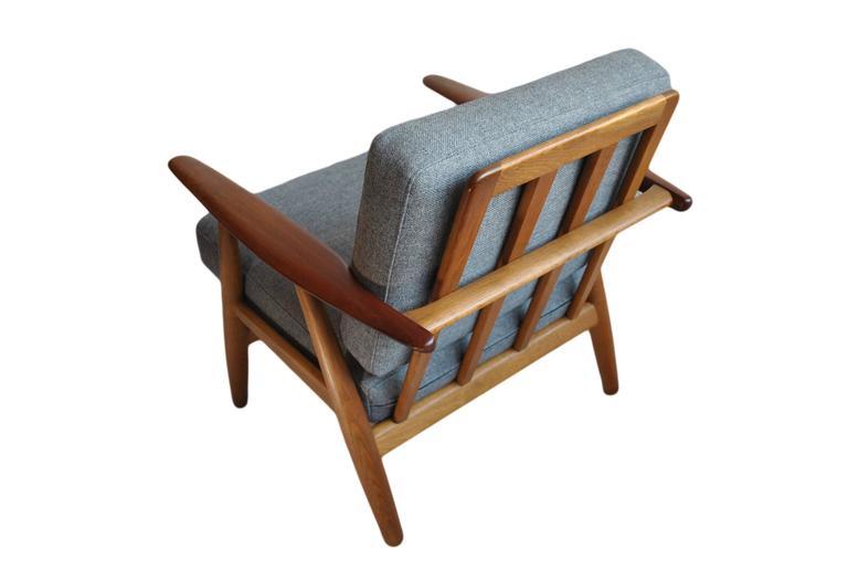 Original Hans J Wegner Ge240 Cigar Chair 3