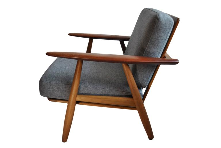 Original Hans J Wegner Ge240 Cigar Chair at 1stdibs