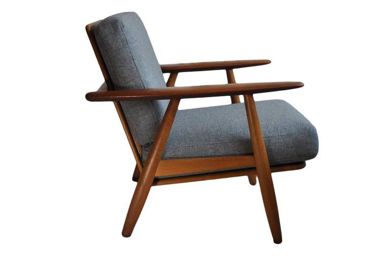Original Hans J Wegner Ge240 Cigar Chair 5
