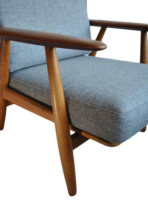 Original Hans J Wegner Ge240 Cigar Chair 6