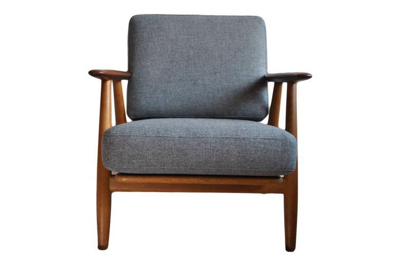 Original Hans J Wegner Ge240 Cigar Chair 7