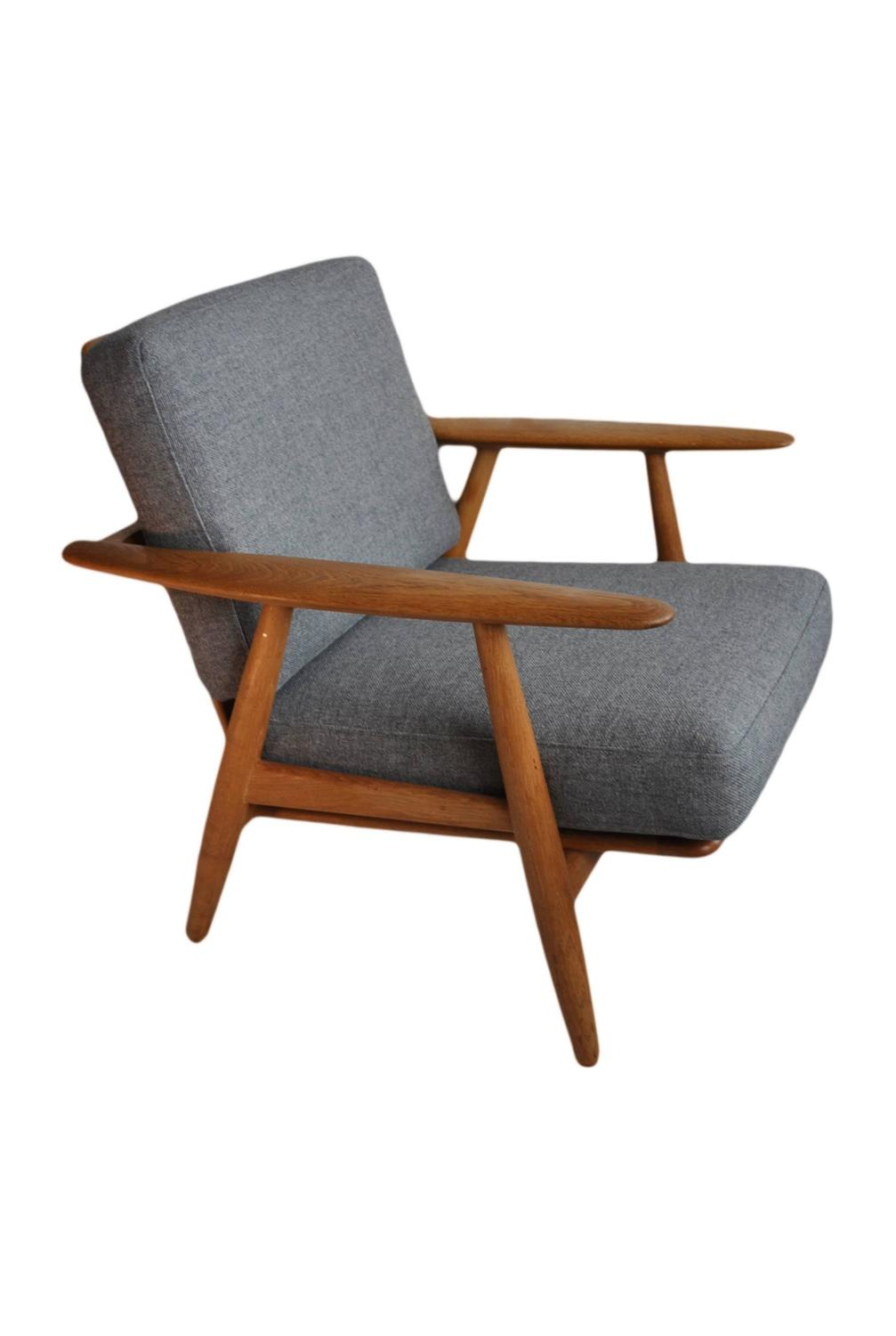 Hans J Wegner Cigar Chair Original Getama at 1stdibs