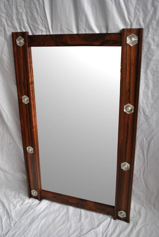 Large Danish Mid-Century Mirror 4