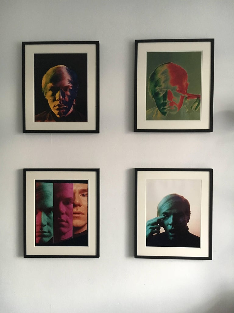 Andy Warhol Portraits by Philippe Halsman, Set of Four 7