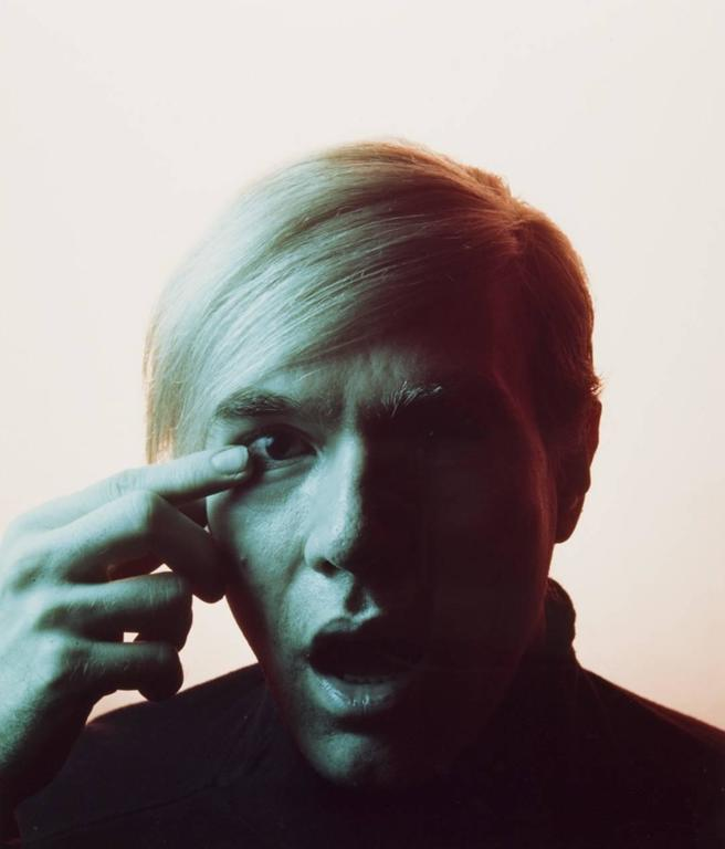 Andy Warhol Portraits by Philippe Halsman, Set of 4, 1968 2