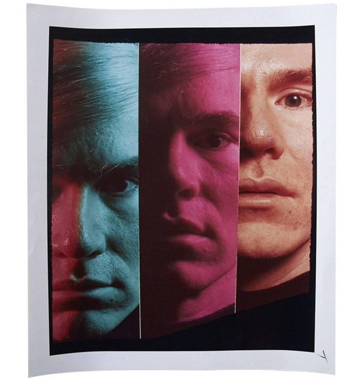 Andy Warhol Portraits by Philippe Halsman, Set of 4, 1968 4