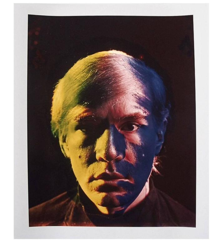 Andy Warhol Portraits by Philippe Halsman, Set of 4, 1968 8