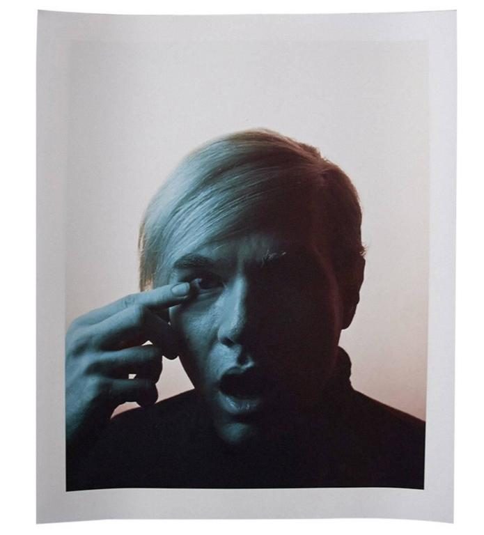 Andy Warhol Portraits by Philippe Halsman, Set of 4, 1968 9