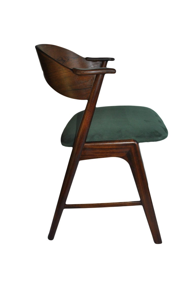Kai Kristiansen Rosewood Chairs Set Of Four Model 32 At 1stdibs