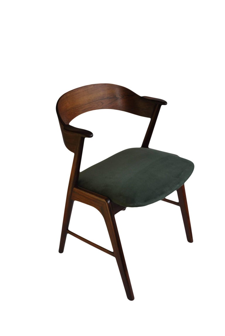 Midcentury Rosewood Chair Kai Kristiansen Model 32 At 1stdibs