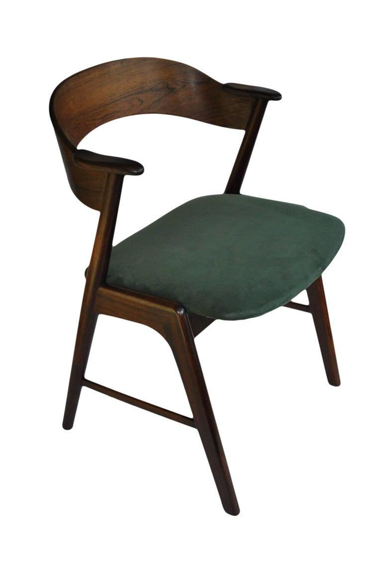 Midcentury rosewood chair kai kristiansen model 32 at 1stdibs - Kai kristiansen chair ...