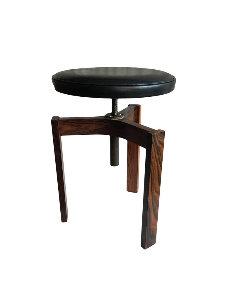 Pair Of Midcentury Danish Stools At 1stdibs