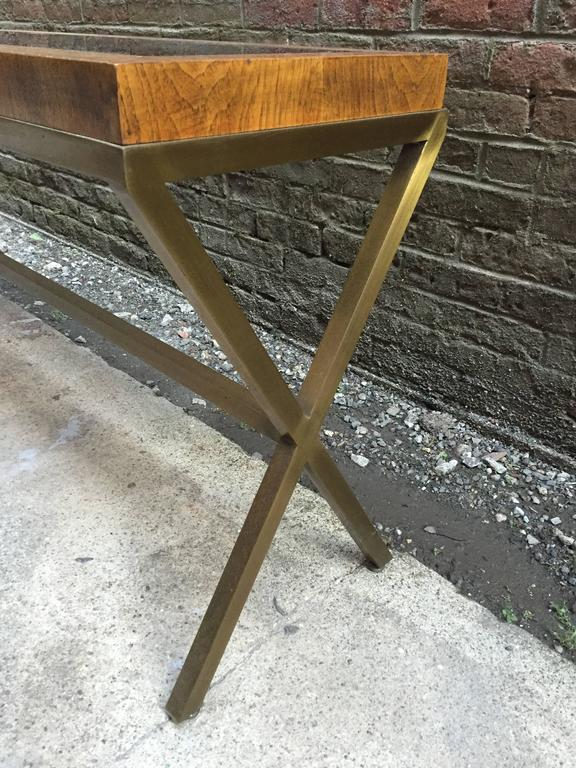 1970s X Base Console Table At 1stdibs