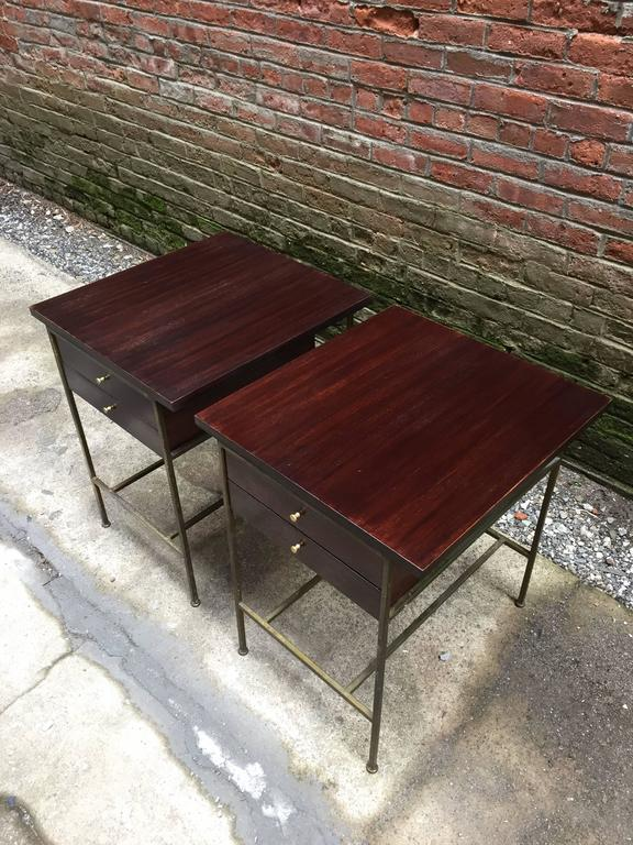 American Pair of Paul McCobb Irwin Collection End Tables For Sale