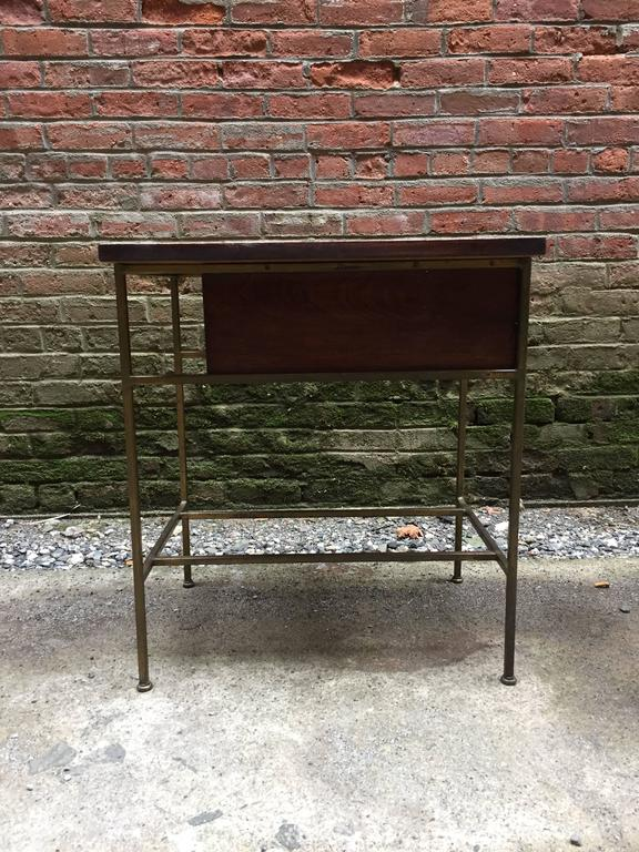 Plated Pair of Paul McCobb Irwin Collection End Tables For Sale