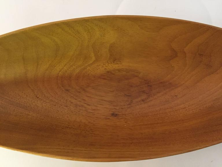 Arthur umanoff taverneau collection carved wood bowl for