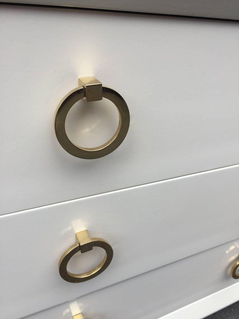 Mid-20th Century Pair of T.H Robsjohn-Gibbings Lacquered Dressers for John Stuart For Sale