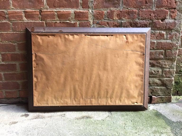 1950s Geometric Cityscape RKM For Sale 3