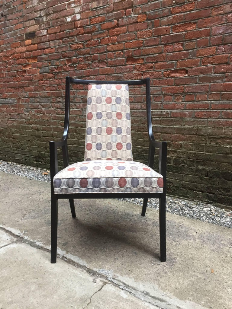 Mid-Century Modern Harvey Probber Saber Leg Armchair For Sale