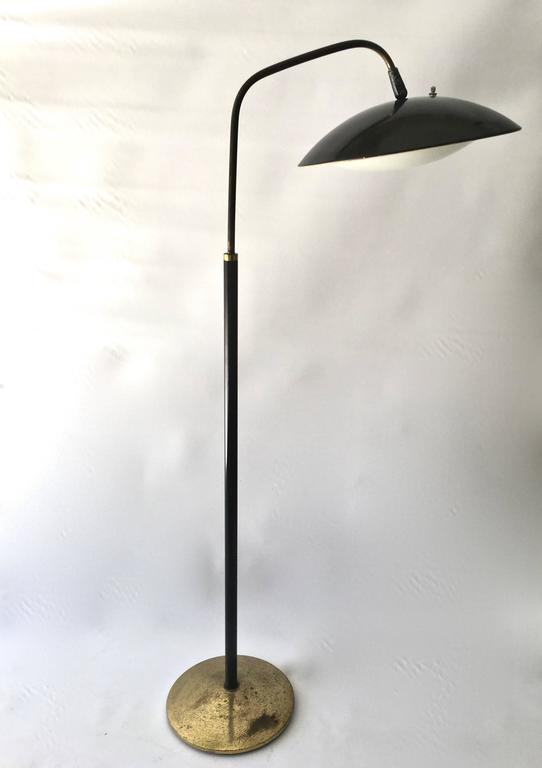 Gerald Thurston Floor Lamp For Lightolier At 1stdibs