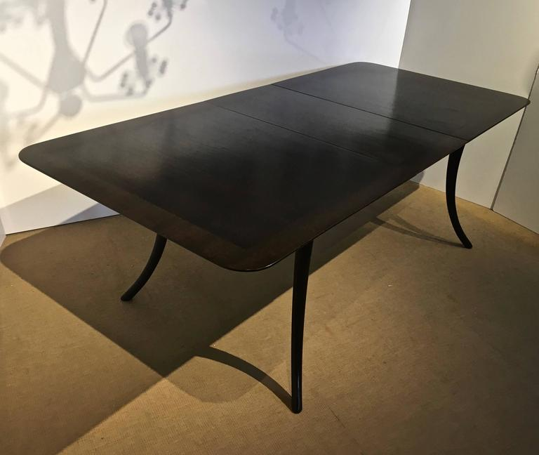 Robsjohn Gibbings Dining Table Klismos Style Legs  : IMG1212l from www.1stdibs.com size 768 x 648 jpeg 34kB
