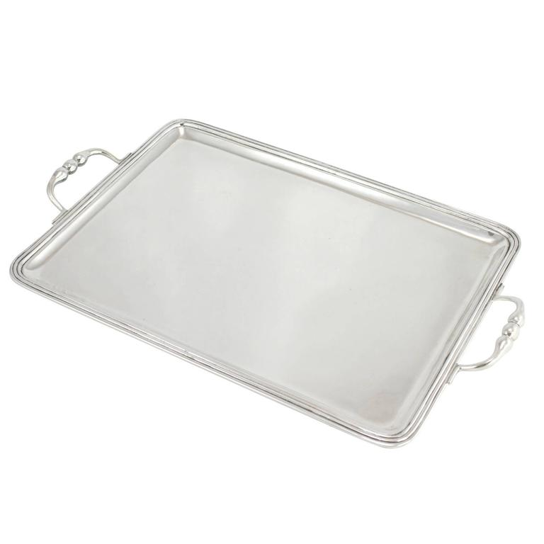 Mexican Sterling Silver Tray by Sanborns