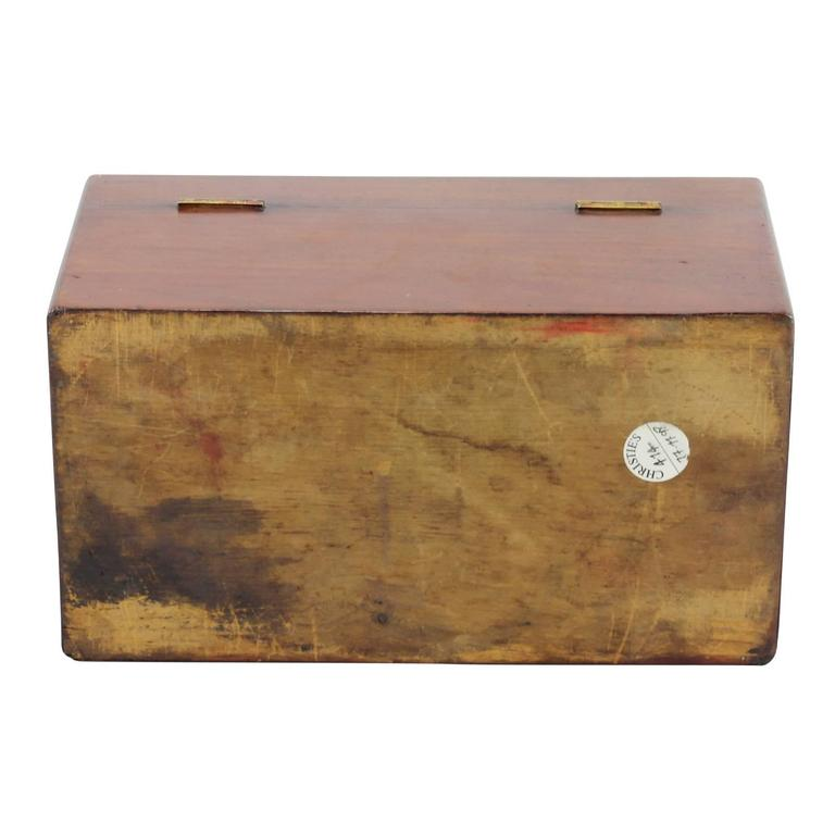 Early 19th Century Regency Rosewood Tea Caddy For Sale 5