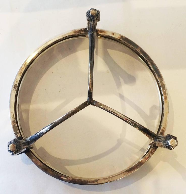 Art Nouveau WMF Table Centerpiece Fruit Bowl with Original Glass ...