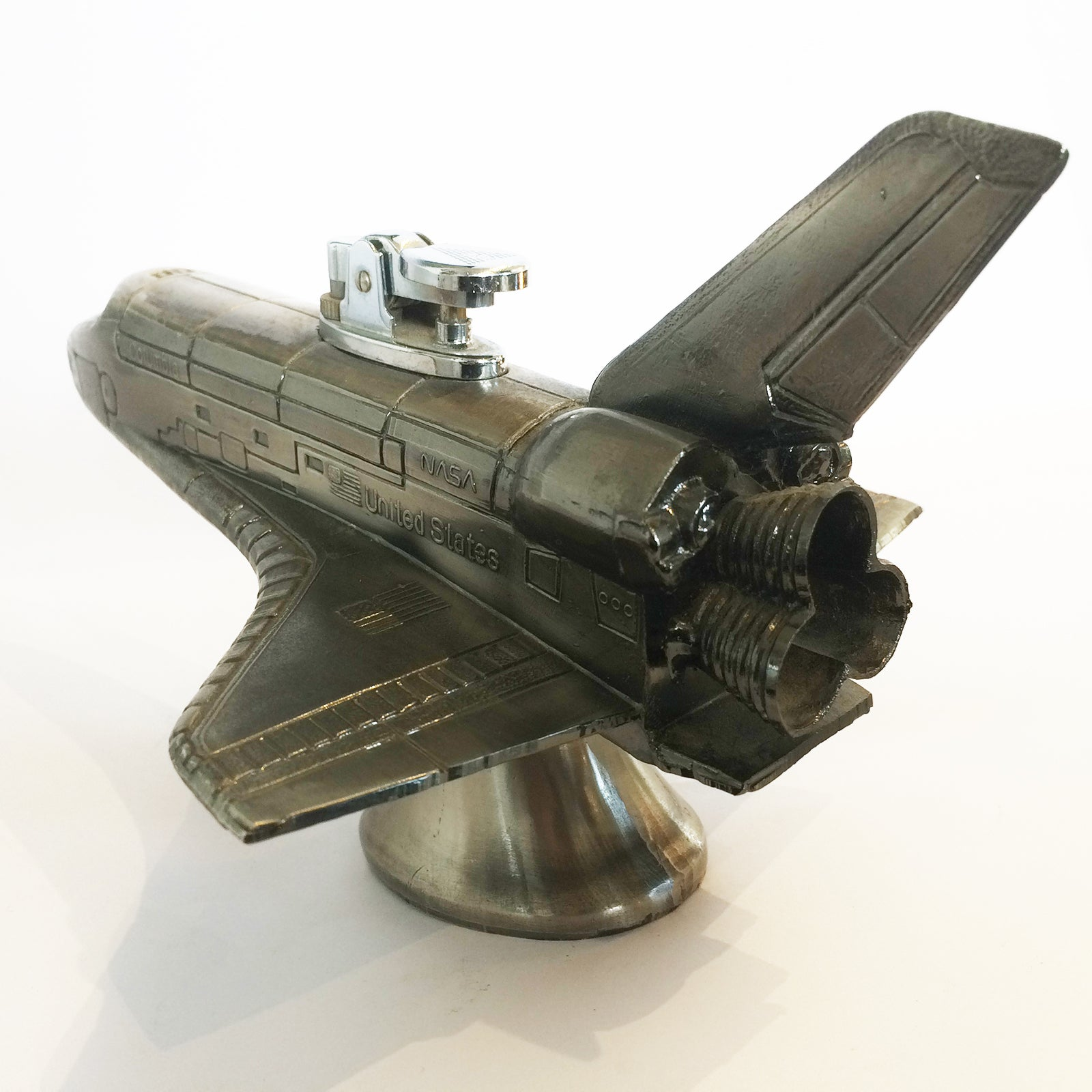 dc8b7711ac80 Space Shuttle Columbia Table Lighter Aviation Aerospace Airplane Interest  For Sale at 1stdibs