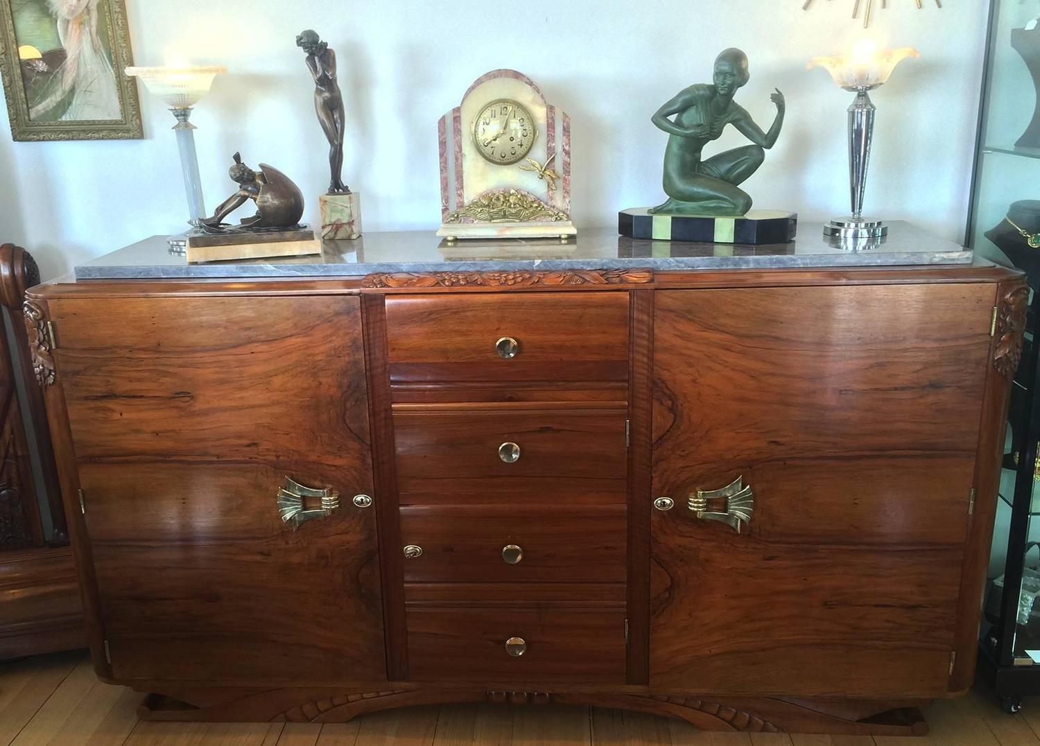 Details Zu Sideboard Savoy Kommode Baltimore Walnuss