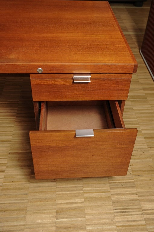l shape desk in the style of george nelson at 1stdibs