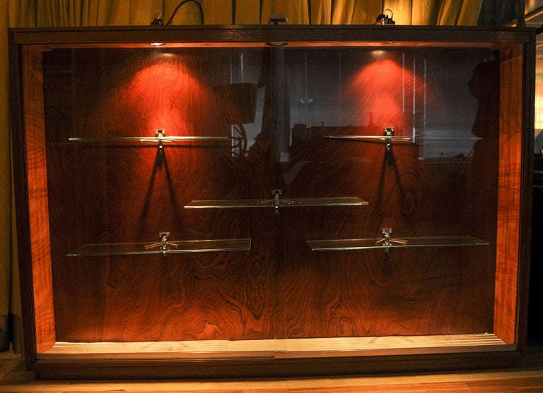 Showcase Cabinet Wall Mounted with Lighting For Sale at ...