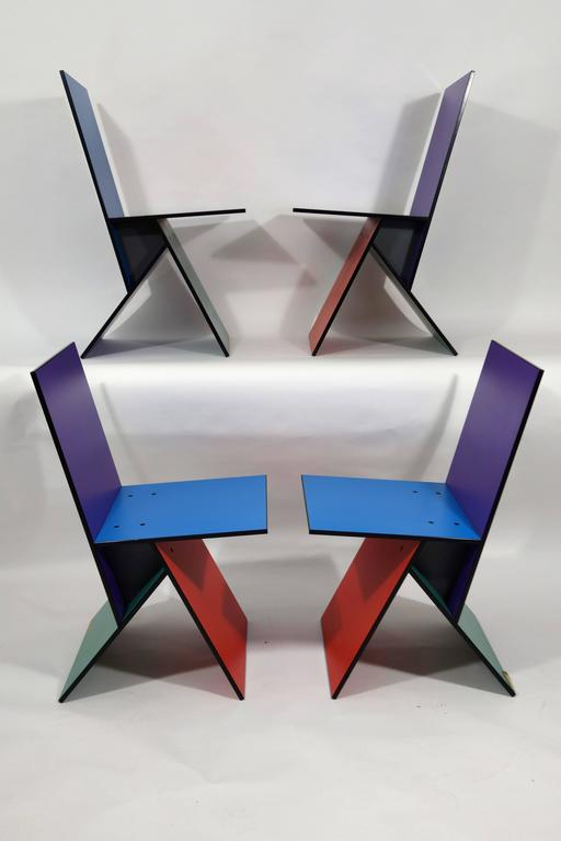 Vilbert Chairs By Verner Panton for Ikea For Sale 1