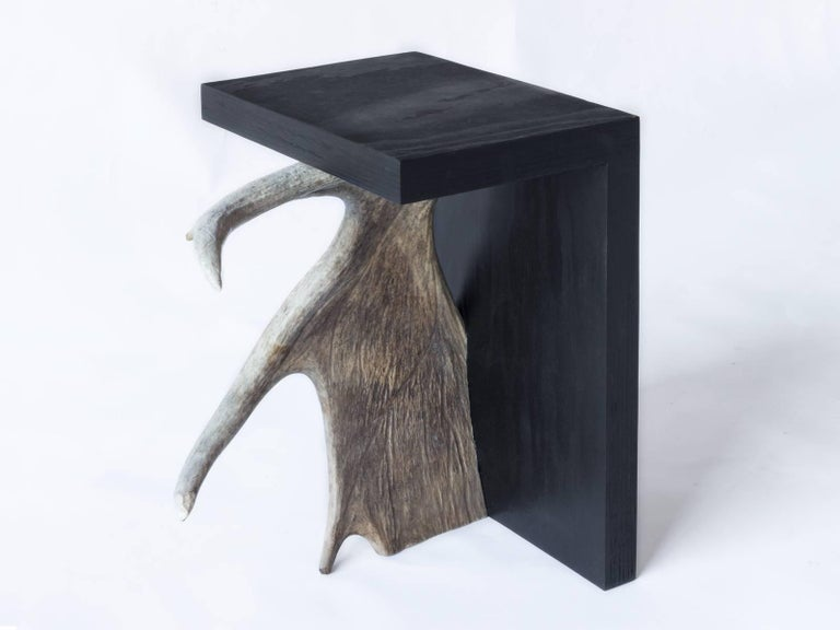 Rick Owens Stag T Stool in Black 2