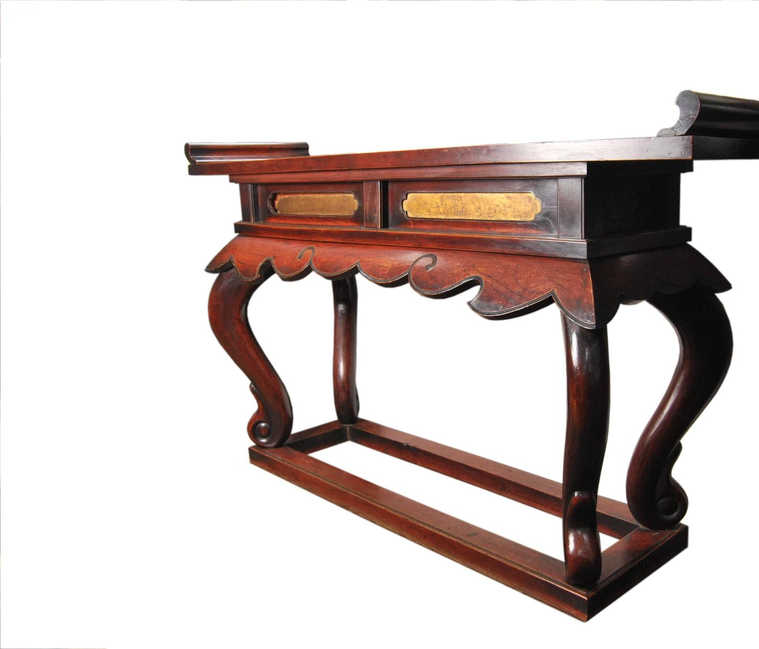 Buddhist Altars For Sale: Antique Japanese Buddhist Altar Table, 19th Century For