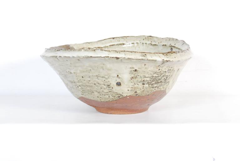 Large Japanese Stoneware Bowl by Maruta Munehiko In Excellent Condition For Sale In Prahran, Victoria