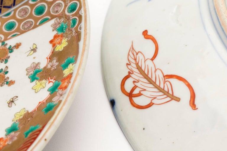 Antique Japanese Pair of Imari Plates, Meiji Period, circa 1900 For Sale 2