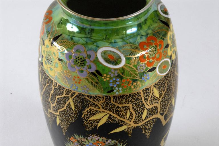 Carlton Ware Mandarin Tree Vase England Circa 1935 For Sale At 1stdibs