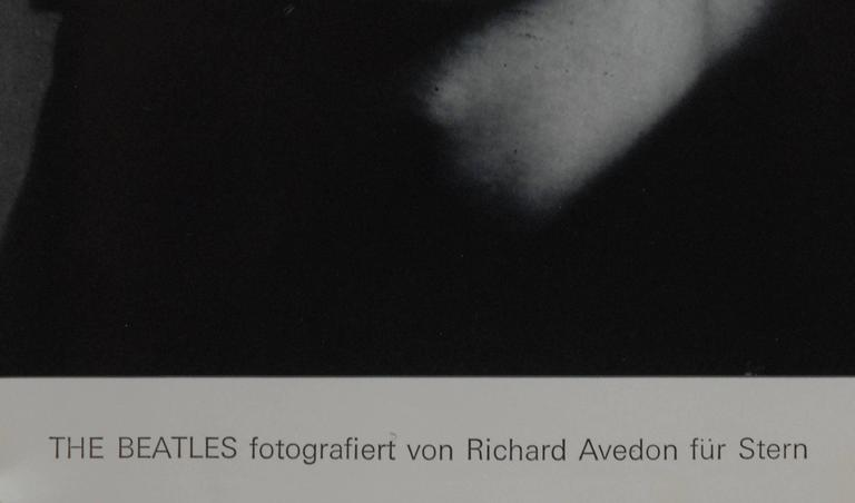 Richard Avedon's Beatles photos have become iconic images of the era. Using color posterization to alter his images and create a psychedelic representation Avedon epitomises the changing social mores of the era. 