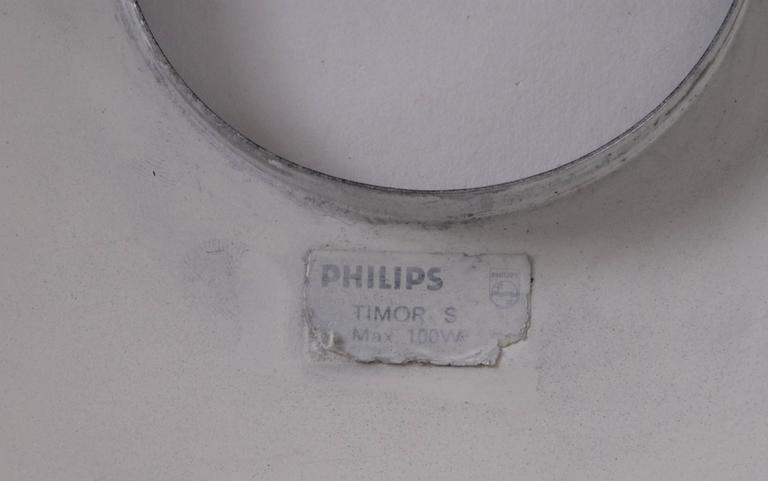 Belgian Philips Louis Kalff Designed 'Timor' Desk Lamp, circa 1958, Belgium For Sale