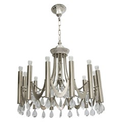 Chrome Sciolari Chandelier, 1960s