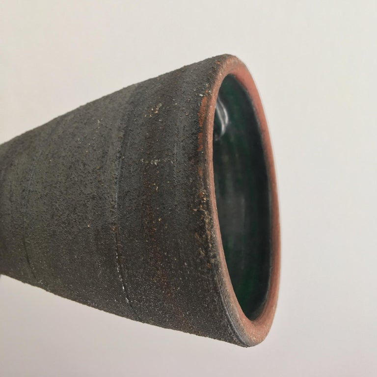 Mid-Century Modern Studio Ceramic Sculpture or Vessel by Clive Brooker, England For Sale 5