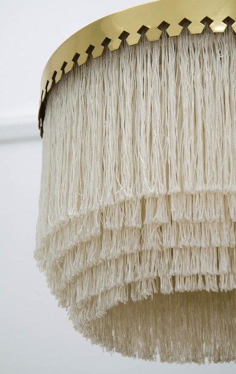Scandinavian Modern Fringed Pendant Light by Hans-Agne Jakobsson, Sweden, 1960s For Sale
