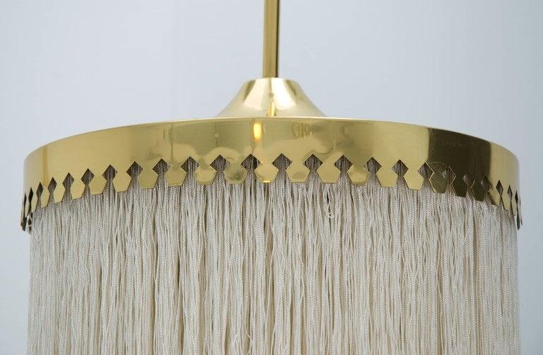 20th Century Fringed Pendant Light by Hans-Agne Jakobsson, Sweden, 1960s For Sale